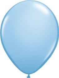 Ballonnen Pastelblauw 100 stuks 30cm