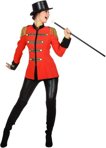 Circus Jas Rood voor dames