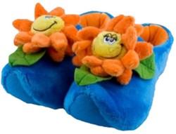Happy Flower Pantoffels Blauw