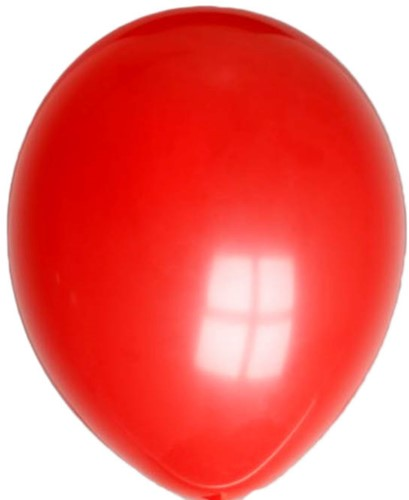 Ballonnen Metallic Rood 25st 35cm