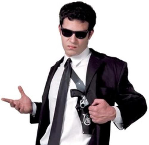 Schouderholster FBI