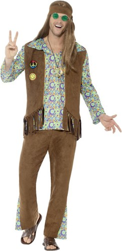Hippie Kostuum Guy voor heren - Jaren 60