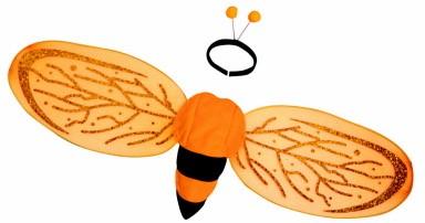Vleugels Bij met Diadeem