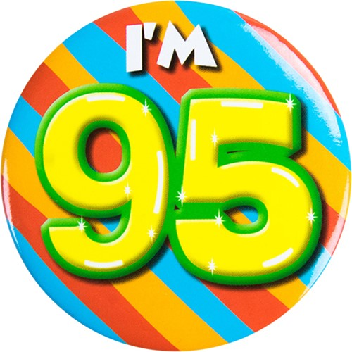 Button 95 jaar