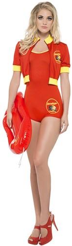 Dameskostuum Baywatch Lifeguard