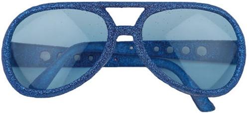 Discobril Glitter Elvis Blauw
