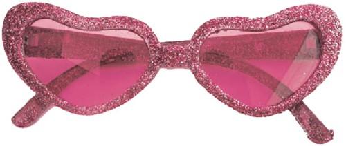 Discobril Hearts Glitter Roze