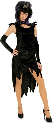 Heksenjurk Zwart