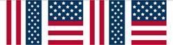 Vlaggenlijn USA - Amerika 10mtr.