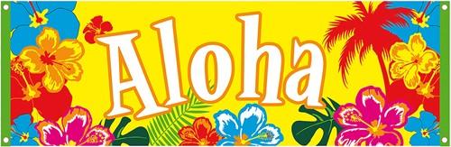 Banner Aloha (220x74cm)