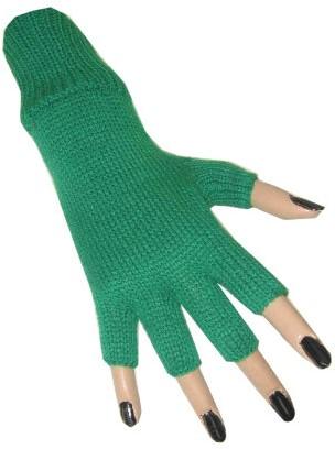 Vingerloze Handschoenen Groen