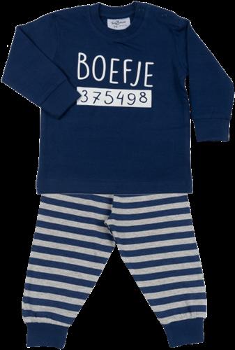 Kinder Pyjama Boefje Navy