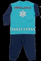 Kinder Pyjama Ambulance (achterkant)