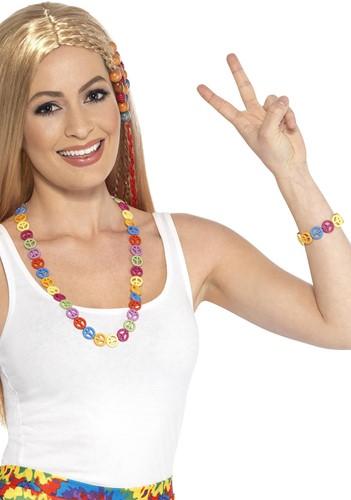 Hippie Setje Peace - Ketting en Armband