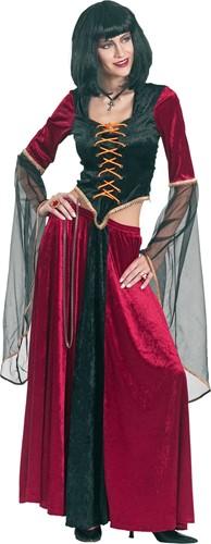 Dameskostuum Gothic Lady