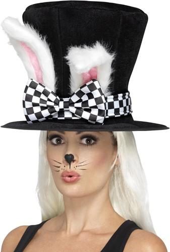 Hoge Hoed met Konijnenoren - Alice in Wonderland