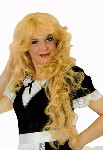 Pruik Luxe Superlang Blond