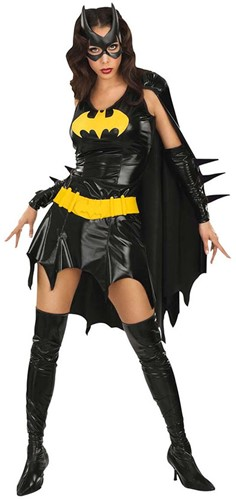 Dameskostuum Batgirl Luxe