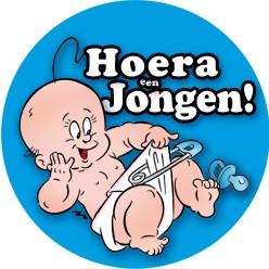Big Sign Hoera Jongen!