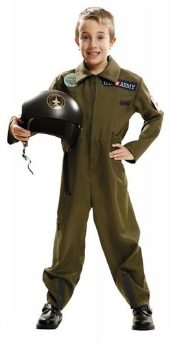 Pilotenkostuum Top Gun voor kinderen