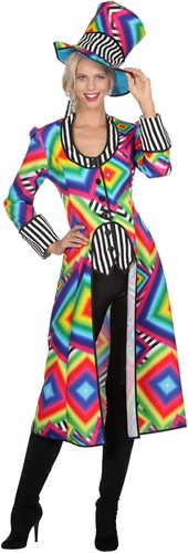 Carnavalsjas Multiblocks Lang voor dames (2)