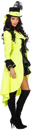 Damesjas Neon Geel Paisley Luxe