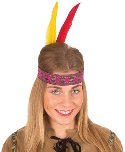 Hoofdband Indiaanse Squaw