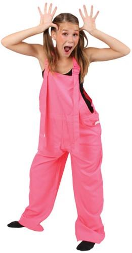 Tuinbroek Neon Pink
