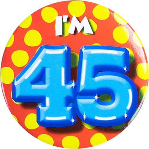 Button 45 jaar