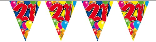 Vlaggenlijn 21 jaar 10mtr