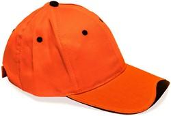 Baseballcap Oranje +zwart