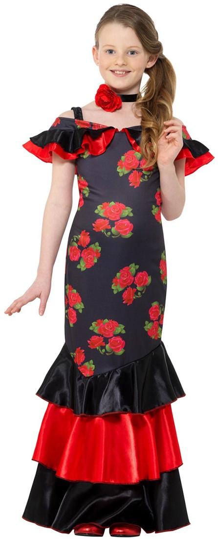Jurk Flamenco Voor Danseres MeisjesCarnavalsland Spaanse UzVLSpqGM