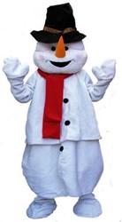 Mascotte Sneeuwman Luxe