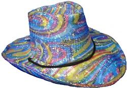 50303 Glitter Cowboyhoed