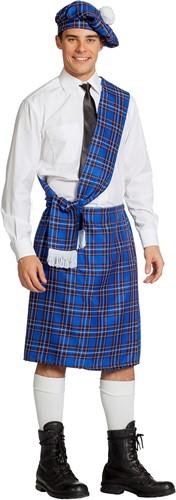 Kostuum Schot Blauw 3dlg