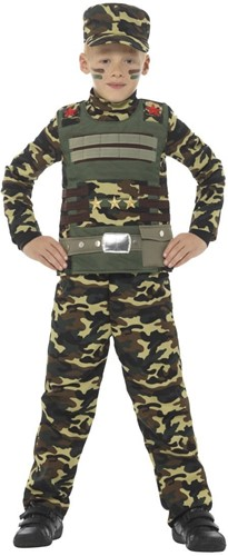 Kinder Legerkostuum Militair