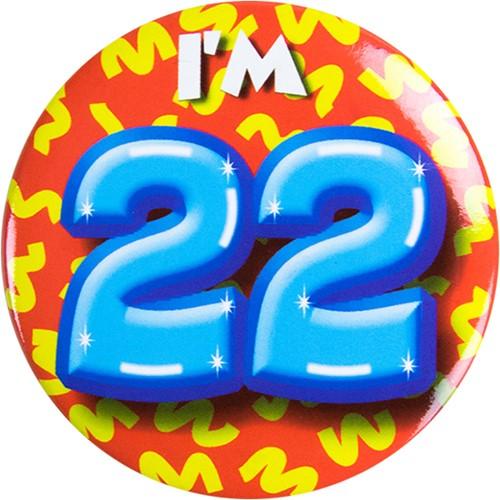 Button 22 jaar