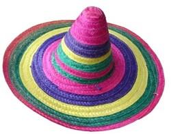 Strohoed Sombrero Mexico Kleuren