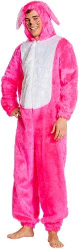 Kostuum Paashaas Pink