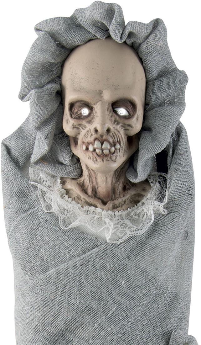 Geluiden Halloween.Halloween Decoratie Enge Baby Licht Geluid 65cm