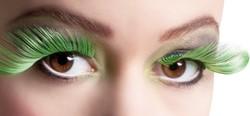 Wimpers Flamboyant Zwart-Groen