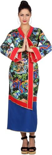 Dameskostuum Japanse Dragon Lady
