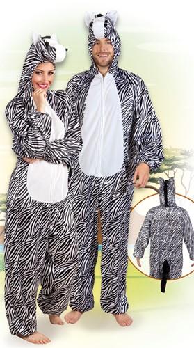 Kostuum Zebra Pluche