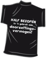 Mini-shirt Half bezopen