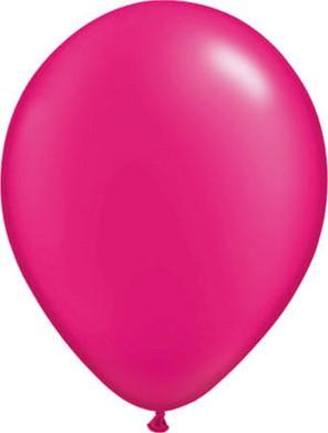 Ballonnen Fuchsia 100 stuks 30cm