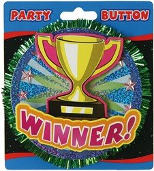 3D Button Winner