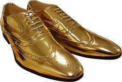Heren Schoenen Goud Luxe