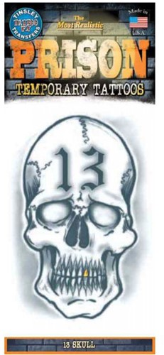 Tattoo Doodshoofd Skull 13