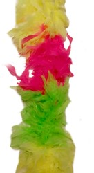 Boa 2mtr. Mixed 3-Colours Neon Geel-Pink-Groen