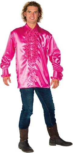 Rucheblouse Super Luxe Pink